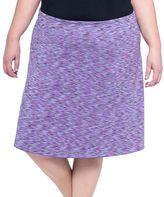 Soybu Plus Size Wanderlust Printed Skirt