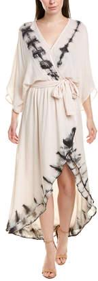 Young Fabulous & Broke Dolman Wrap Dress