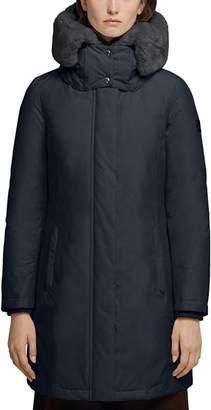 Woolrich Bow Bridge Fur-Collar Down Coat