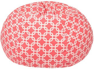 Gold Medal Medium Trellis Bean Bag Chair