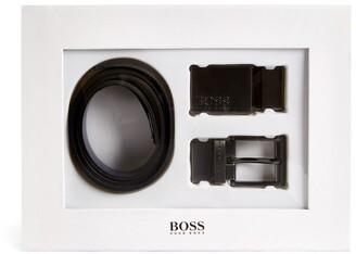 BOSS Kidswear Buckle Belt Set