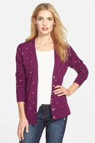 Halogen Lightweight V-Neck Cardigan (Petite)
