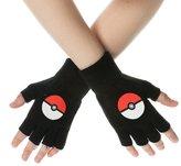 Pokemon Gloves Poke Ball new Official fingerless