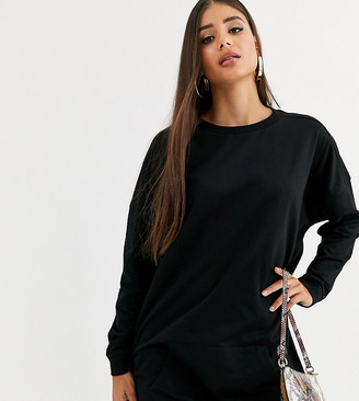 Asos Tall DESIGN Tall sweat dress with front pocket