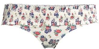 Tory Burch Costa Printed Hipster Bikini Bottom