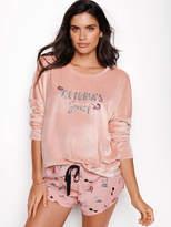 Victoria's Secret Victorias Secret Shine Terry Pullover