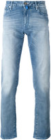 Jacob Cohen washed out straight leg jeans - men - Cotton/Polyester/Spandex/Elastane - 30