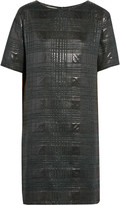 Marni Metallic jacquard mini dress