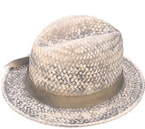 Le Chapeau stained effect woven hat