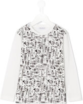 Dolce & Gabbana instrument print T-shirt - kids - Cotton - 10 yrs