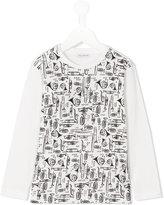 Dolce & Gabbana instrument print T-shirt