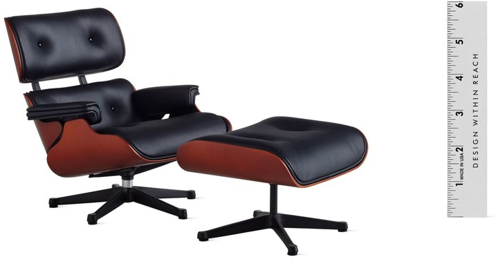 Design Within Reach Vitra Miniatures Collection: Eames Lounge and Ottoman