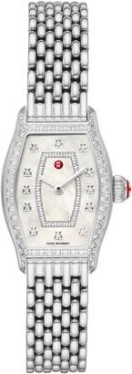 Michele Diamond Watch Head & Bracelet, 23mm