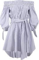 Caroline Constas Lou Striped Dress