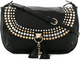 Sonia Rykiel studded crossbody bag - women - Sheep Skin/Shearling - One Size