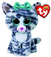 Claire's Girl's TY Beanie Boo Quinn the Cat Plush Toy in White/Black