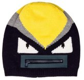 Fendi Boys' Wool Mask Beanie w/ Tags