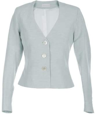 Adelina Rusu Castle Jacket Blue