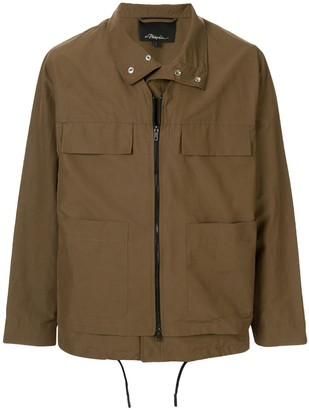 3.1 Phillip Lim Layered Zip-Up Jacket