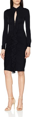 Hoss Intropia Women's P581VES06459600 Dress Black (Negro 600) 12 (Size:Medium)