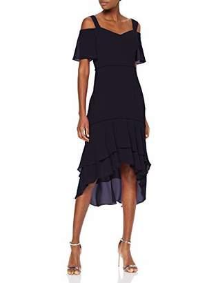 S'Oliver BLACK LABEL Women's 70.905.81.2487 Party Dress, (Luxedo Blue 5944), 8 (Size: )