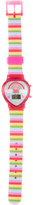 Peppa Pig Pink Stripe Rainbow Digital Watch