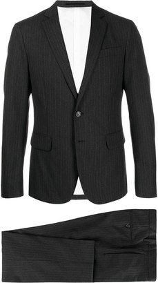 DSQUARED2 Striped Formal Suit