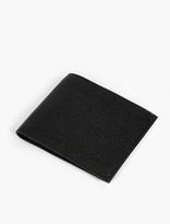 Thom Browne Black Pebblegrain Leather Billfold Wallet