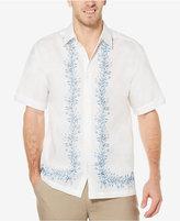 Cubavera Men's Linen Foliage Print Shirt