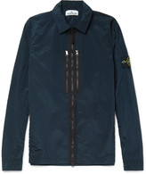 Stone Island Garment-Dyed Shell Jacket