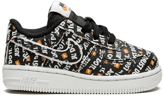 "Nike Kids Force 1 LV8 Just Do It"" sneakers"