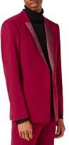 Topman Men's Skinny Fit Tuxedo Jacket