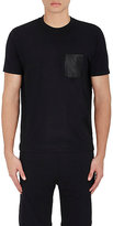 Barneys New York MEN'S COTTON-BLEND JERSEY T-SHIRT
