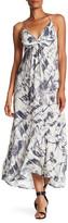 Love Stitch Twist Front Maxi Dress