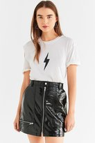 Truly Madly Deeply Lightning Bolt Cut-Out Tee