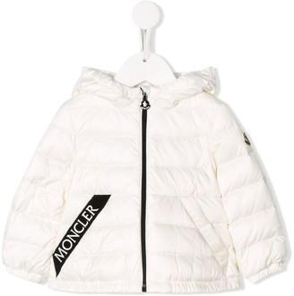 Moncler Enfant Logo-Tape Down Jacket