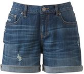 JLO by Jennifer Lopez boyfriend denim shorts