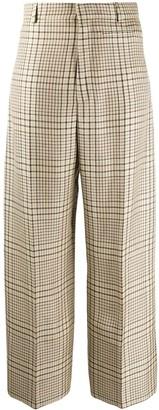 Jacquemus Le Pantalon Santon Check Print Pants