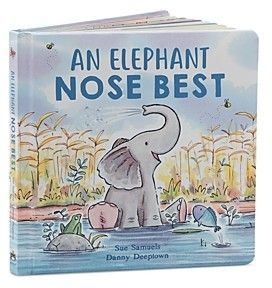Jellycat An Elephant Nose Best Book - Ages 0+