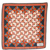 Lanvin Geometric Silk Scarf
