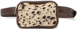 Tmrw Studio Alexander Genuine Shearling Belt Bag