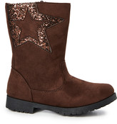 Ositos Shoes Girls' Casual boots BROWN - Brown Sequin-Star Boot - Girls