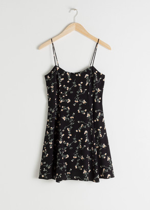 And other stories Floral Mini Dress