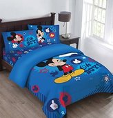 Disney Mickey Mouse Oh Boy Clubhouse Super Soft Luxury 4 Piece Full Size Reversible Comforter