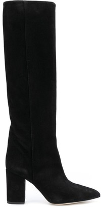 Paris Texas slip-on knee boots
