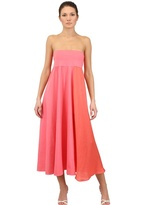 Antonio Marras Cotton Voile And Jersey Long Skirt/Dress