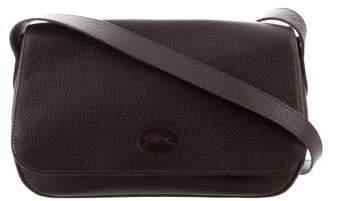 Longchamp Pebbled Leather Shoulder Bag