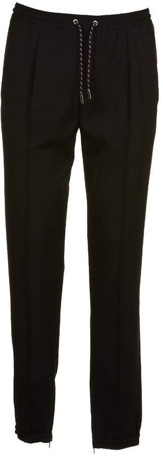 Christian Dior Gathered Ankle Trousers