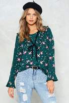 Nasty Gal Pictures of Lily Floral Top
