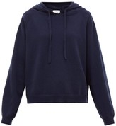 Allude Hooded Wool-blend Sweater - Womens - Navy